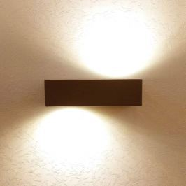 LED-Außenwandleuchte Roji aus Aluminium - IP44