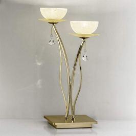 Hochwertige Kristall-Tischleuchte Vibe