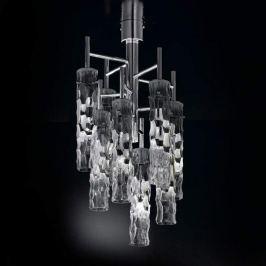 Achtflammige Designer-Deckenleuchte Bamboo
