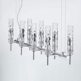 Achtflammige Designer-Hängeleuchte Newbamboo