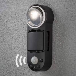 Sensor-Außenwandlampe Prato - batteriebetrieben
