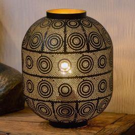 Tischleuchte Tahar mit orientalischem Charme