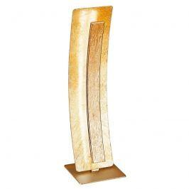 Glänzende LED-Tischleuchte Nevis, gold