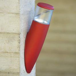 Besondere Außenwandlampe Bamboo rot