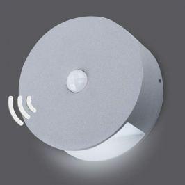 Batteriebetr. LED-Wandleuchte Gob mit Sensor, IP54