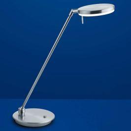 B-Leuchten Omega LED-Schreibtischlampe nickel matt