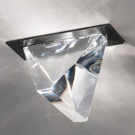 Fabbian Tripla - LED-Deckeneinbauleuchte anthrazit