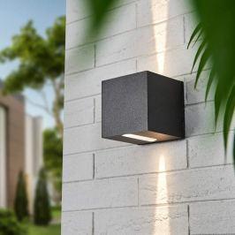 Eckiger LED-Strahler Leron Lichtaustritt eng eng