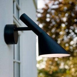 Louis Poulsen AJ - LED-Außenwandlampe, schwarz