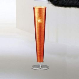 Attraktive Tischleuchte GOLD FIRE, orange