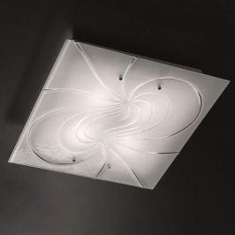 Quadratische Deckenlampe Mistral 50 cm