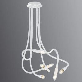 Lover - eine bewegliche, weiße Deckenlampe