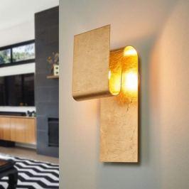 Escale Fold - mit Blattgold belegte LED-Wandlampe