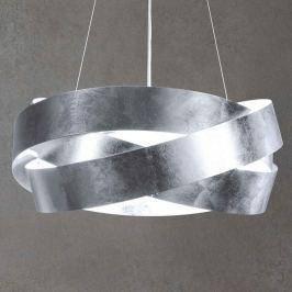 LED-Hängeleuchte Pura mit Blattsilber