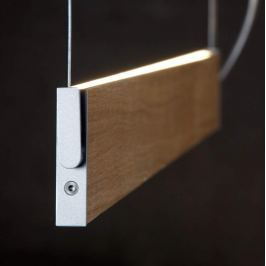 Drehbare LED-Hängeleuchte Manollo, dimmbar