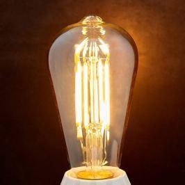 E27 LED-Rustikalampe  6W 500Lm, amber 2.200K