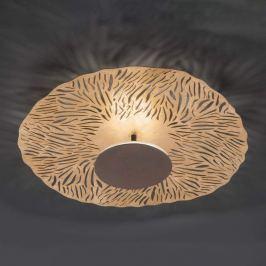 Coral - schöne LED-Deckenleuchte blattvergoldet