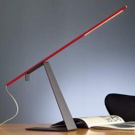 Tecnolumen Jella - LED-Tischlampe, rot