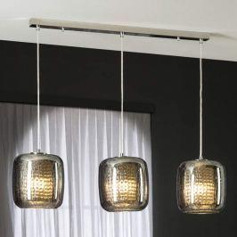 Dreiflammige LED-Pendelleuchte Aqua
