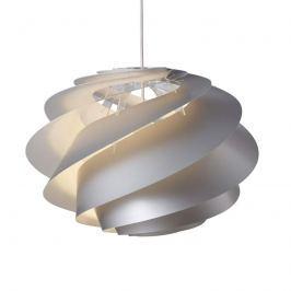 LE KLINT Swirl 1 - silberne Designer-Pendelleuchte