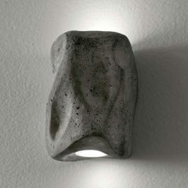 Kleine LED-Außenwandleuchte Mides, grau, uw