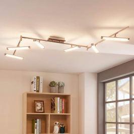 6-flammige LED-Deckenlampe Pilou, dimmbar