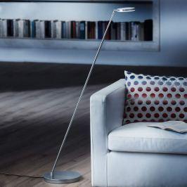 Holtkötter Plano S - LED-Stehleuchte, alu matt
