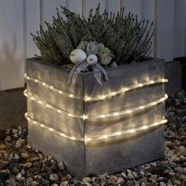 LED-Lichtschlauch 6m außen Sensor 96 flg. ww Batt