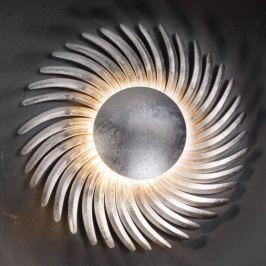 Mit Blattsilber belegte LED-Wandlampe Shine LED