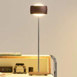 OLIGO Grace LED-Tischlampe Gestensteuerung braun