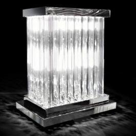 Strahlende Kristall-Tischleuchte Dorico