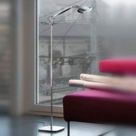 Luceplan Otto Watt - Design-Stehlampe, verspiegelt