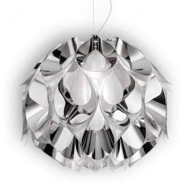 Slamp Flora - Design-Hängeleuchte, silber, 50 cm