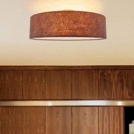 Deckenlampe Gala aus beigebraunem Filz, 60 cm