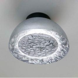 Beeindruckende Deckenleuchte Globus in Silber