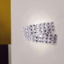 Wandleuchte DIAMANTE mit Kristall