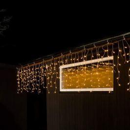 400-flammiger Eisregen-LED-Lichtervorhang außen