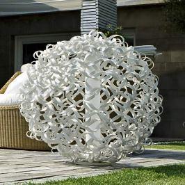 ICONE Salsola Designerleuchte f. außen, weiß, 48cm