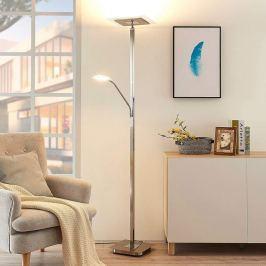 Lilou - eckiger LED-Deckenfluter, dimmbar