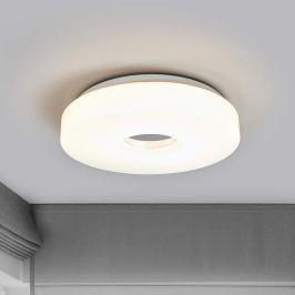 LED-Deckenlampe Levina mit Chromzentrum