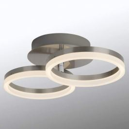 Easydim - LED-Deckenlampe Clock 2-flg.
