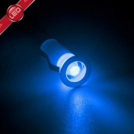 Einbauleuchten Cosa LED 10-er Set blau
