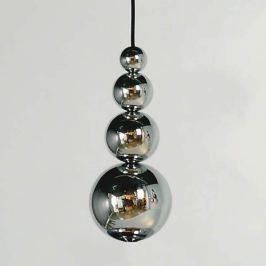 Innermost Bubble - Hängeleuchte in Chrom