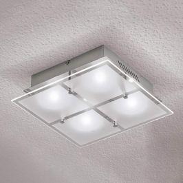Vierflammige LED-Deckenleuchte Florien