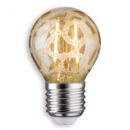 E27 2,5W 825 LED-Tropfenlampe Krokoeis gold