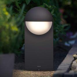 Philips Capricorn LED-Sockelleuchte anthrazit