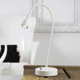 Mento - biegsame LED-Tischleuchte, weiß