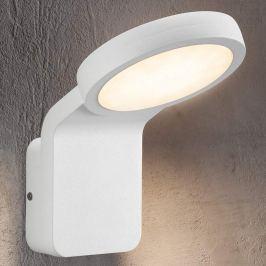Effiziente LED-Außenwandleuchte Marina weiß