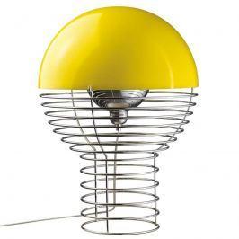 VERPAN Wire Large - Tischleuchte, Schirm gelb