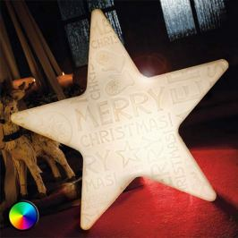 LED-Stern Shining Star Merry Christmas m.